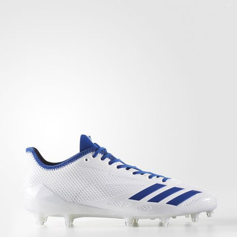 Adidas Adizero 5-Star 6.0 Low - Wht/Blue/Wht - Adult