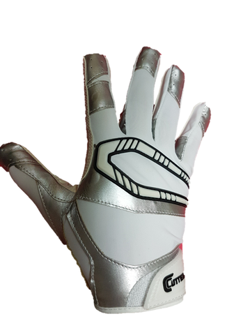 Cutters Rev Pro 2.0 Youth white/silver