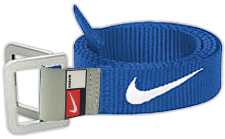 NIKE BELT BLUE/WHITE