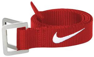 NIKE BELT RED/WHITE