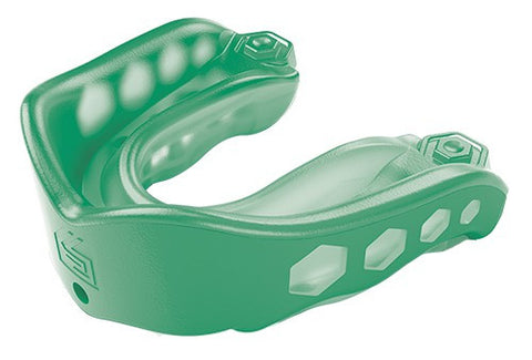 SHOCK DOCTOR GEL MAX STRAPPED - GREEN - ADULT