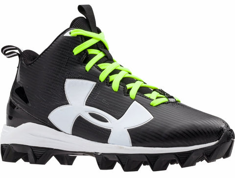 Under Armour Crusher RM JR - Blk/Wht/Blk - Youth