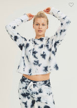 Load image into Gallery viewer, Tie Dye Pullover with Drawstring Hoodie