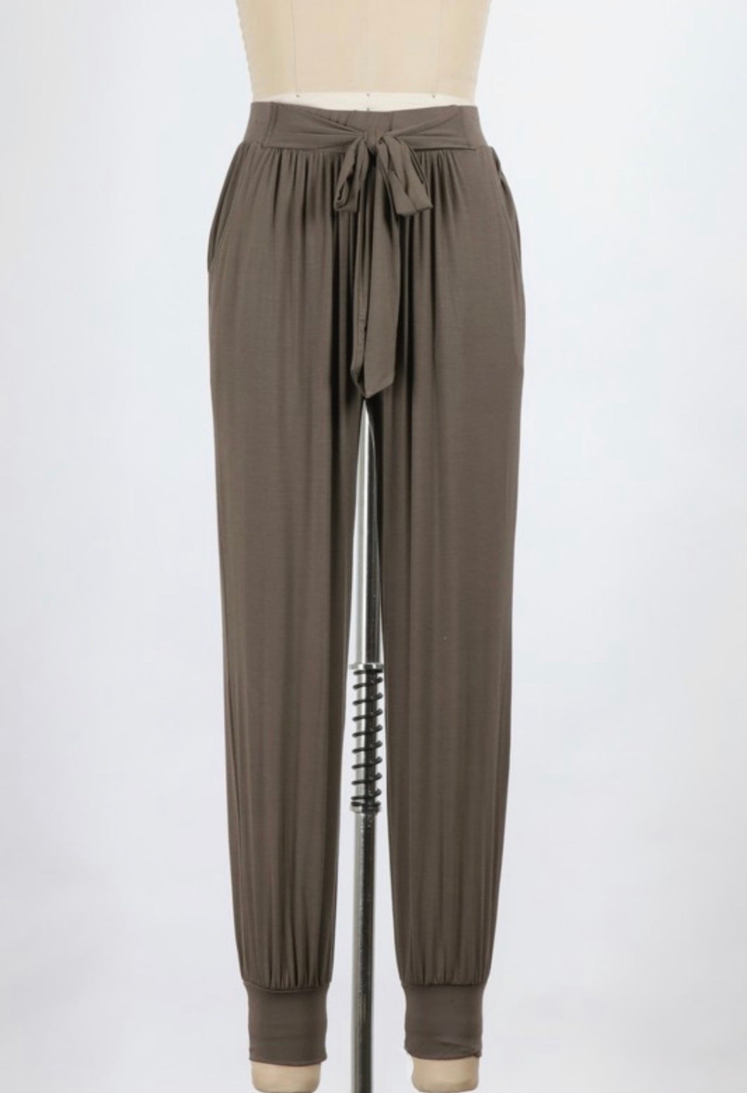 Longe pant with tie - Branches and Blossoms