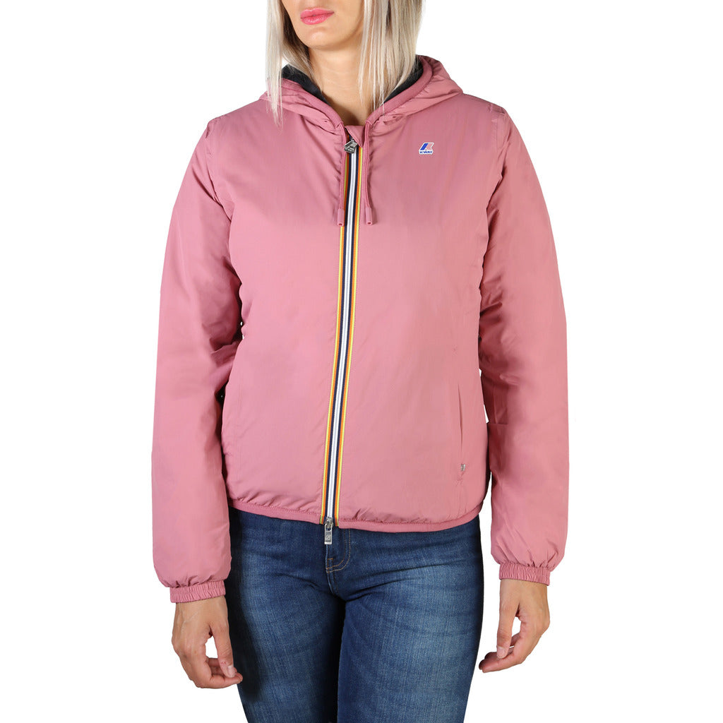 K-Way - LILY MICRO RIPSTOP MARMOTTA K009NQ0 Giacca Giubbotto Impermeabile Donna - BeFashion.it