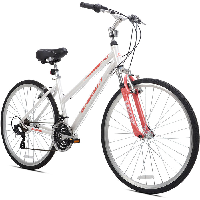 Shogun T1000 Women's Hybrid Bike White