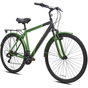 Kent Crosstour 700C Men's Hybrid Bike Green/Black