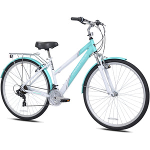 Kent Crosstour 700C Women's Hybrid Bike Teal/White