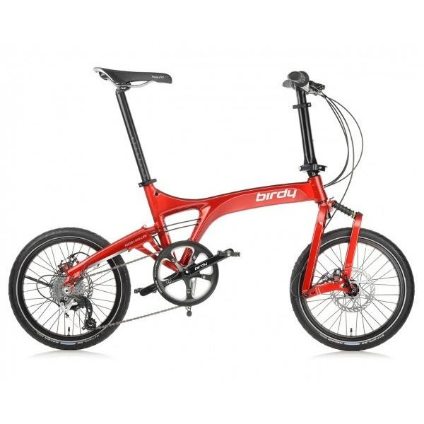 Birdy Touring 24-Speed Dual Disc Brakes Red