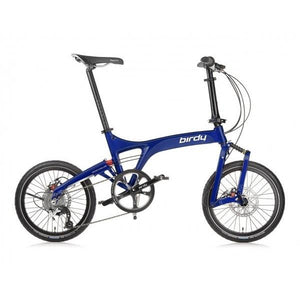 Birdy Touring 24-Speed Dual Disc Brakes Blue