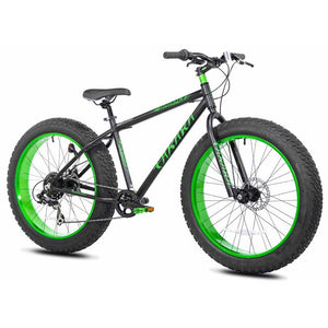 "Takara Shibo Fat Tire Bike 26"" Black/Green"
