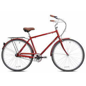 Kent Retro Men's Hybrid Bike Red