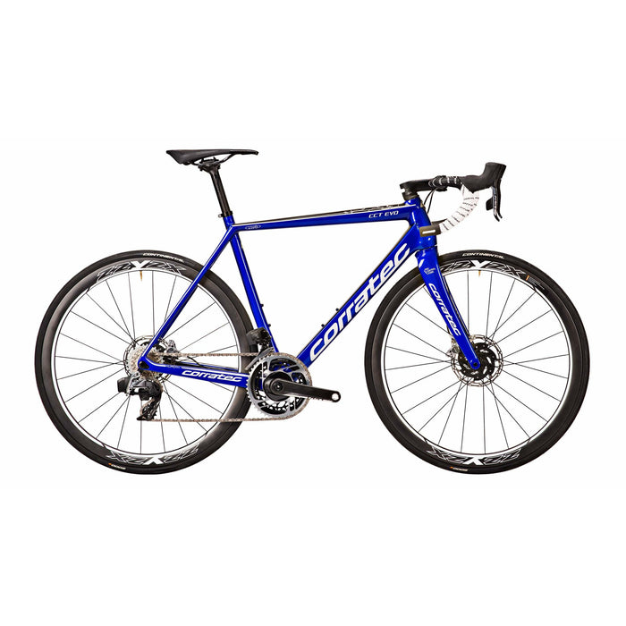 Corratec CCT EVO SLR Disc Blue/White
