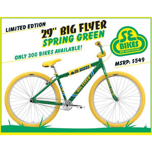 "SE Big Flyer 29"" Spring Green"