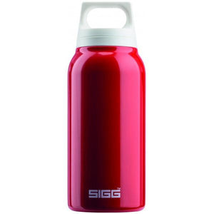SIGG Hot and Cold Water Bottle 0.3L Red with Tea Filter