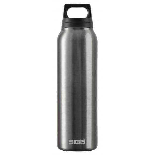 SIGG Hot and Cold Water Bottle 0.5L Smoked Pearl with Tea Filter