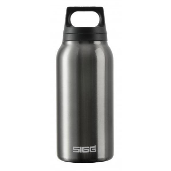 SIGG Hot and Cold Water Bottle 0.3L Smoked Pearl with Tea Filter