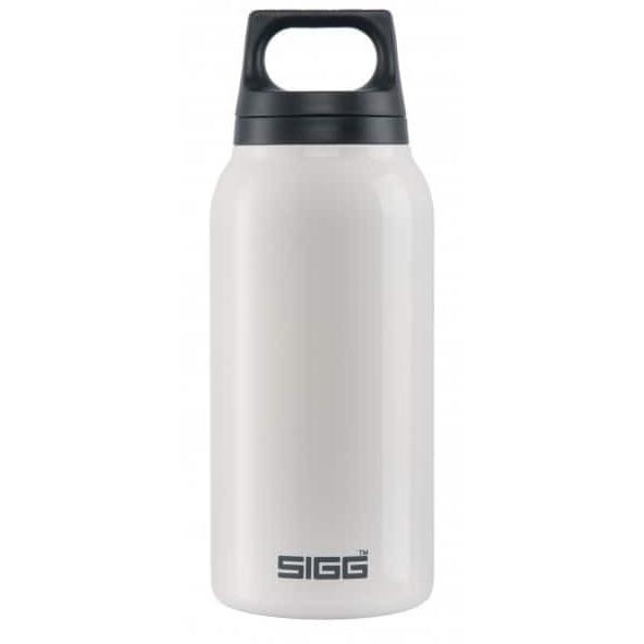 SIGG Hot and Cold Water Bottle 0.3L White with Tea Filter