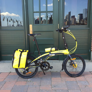 Ortlieb Sport Roller Classic Pannier Yellow/Black. Sigg WMB Water Bottle