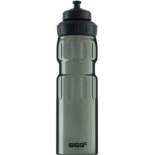 SIGG Wide Mouth Bottle Sport 0.75L Smoke Pearl