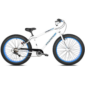 "Takara Nobu Fat Tire Bike 26"" White/Blue"