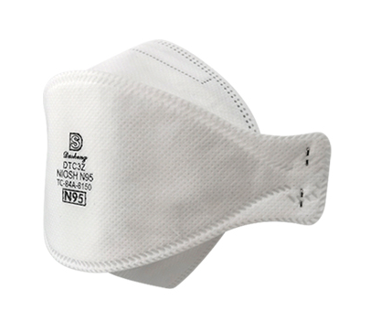 N95 FACE MASK DTC3Z NIOSH-APPROVED AeroSheild™-Approved - pack of 20 masks