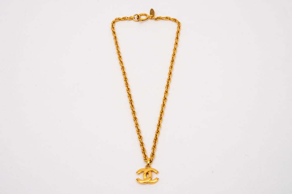 Chanel Gold Vintage Necklace