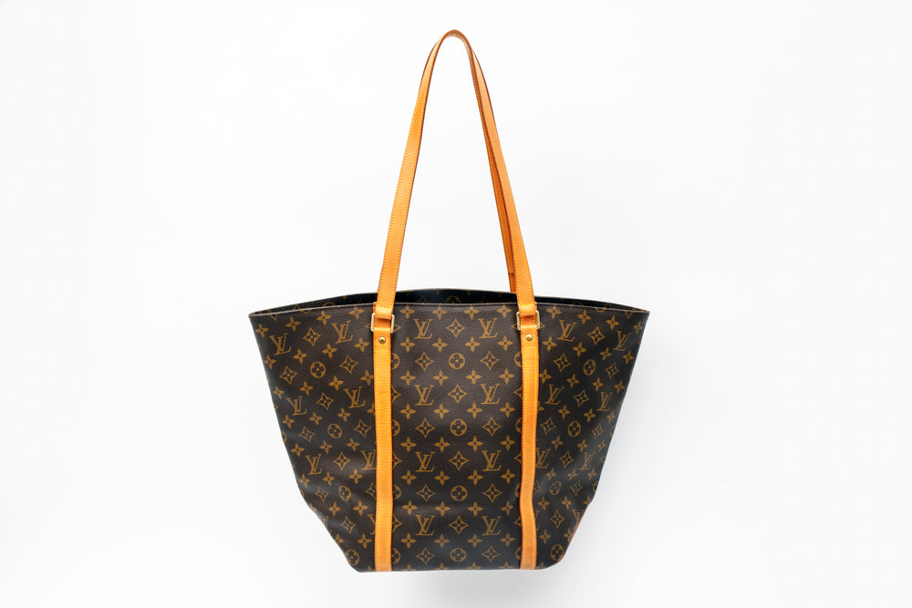 Louis Vuitton Monogram Sac Shopping Tote