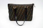 Fendi Zucca Small Shoulder Bag
