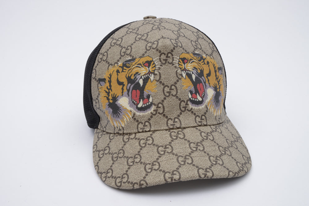 Gucci Supreme Tiger Hat
