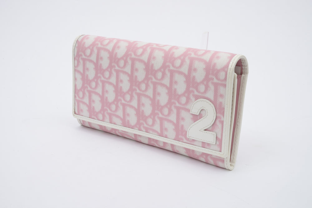 Christian Dior Rose Clair Trotter Wallet