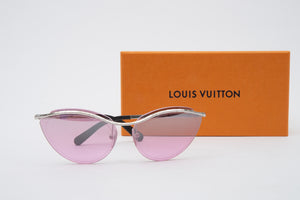 Louis Vuitton Pink Rimless Thelma and Louise Sunglasses