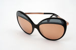 Chanel Butterfly Runway 18K Rose Gold Sunglasses