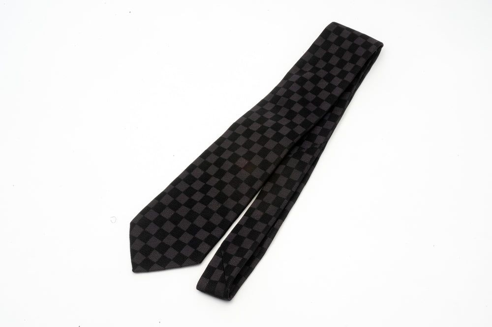 Louis Vuitton Damier Print Tie