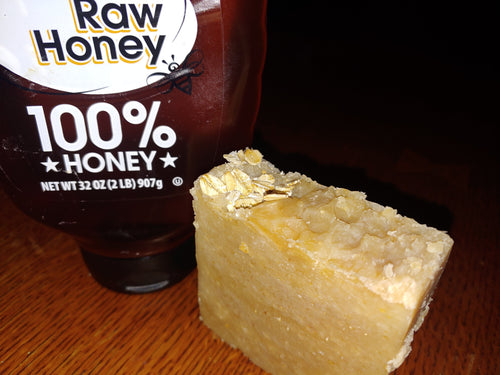Unscented Goat Milk,Oatmeal & Raw Honey