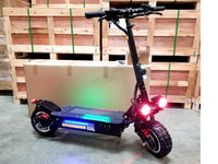3200W Off Road Electric Kick Stunt Scooter Ultra High Speed 30AH Samsung Battery