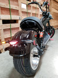 NEW 2000W 60V 20AH Electric Fat Wide Tire Scooter Chopper Harley Style CityCoco