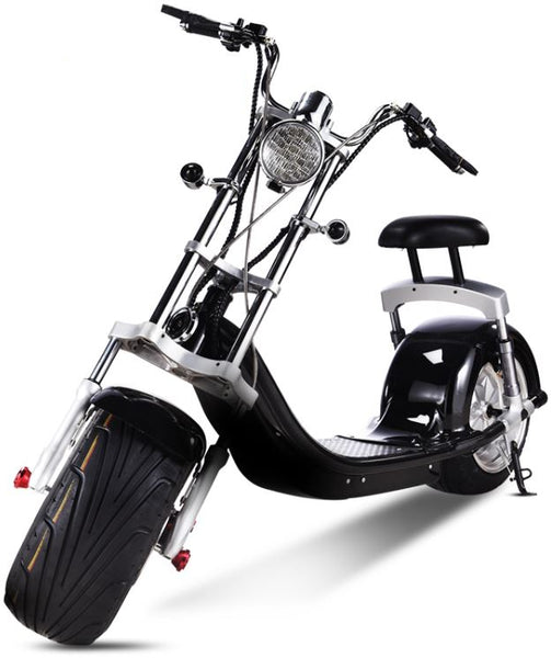NEW 2000W Electric Wide Fat Tire Scooter Chopper / Harley Design CityCoco Bike