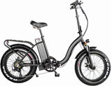 "NEW 1000W Folding Electric Bike Fat Tire Electric Mountain Bicycle 20"" 48V 21AH"