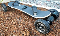 "New 3300W Electric Off Road Skateboard Mountain Board Scooter w/ Remote 8"" Tires"