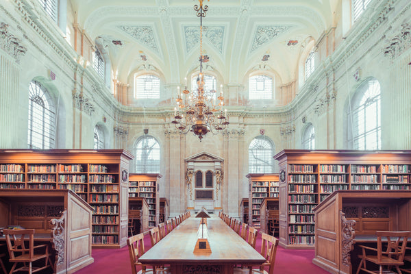 The Lincoln College Library, Oxford