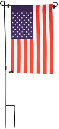 Farmlyn Creek USA Garden Flag with Stand, Patriotic American Outdoor Decor (16.4 x 35.5 in)