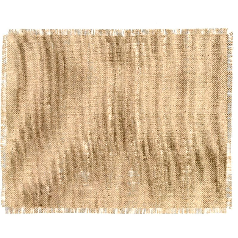 Farmlyn Creek Woven Burlap Placemat, Coffee Bar (17.7 x 13.8 in)
