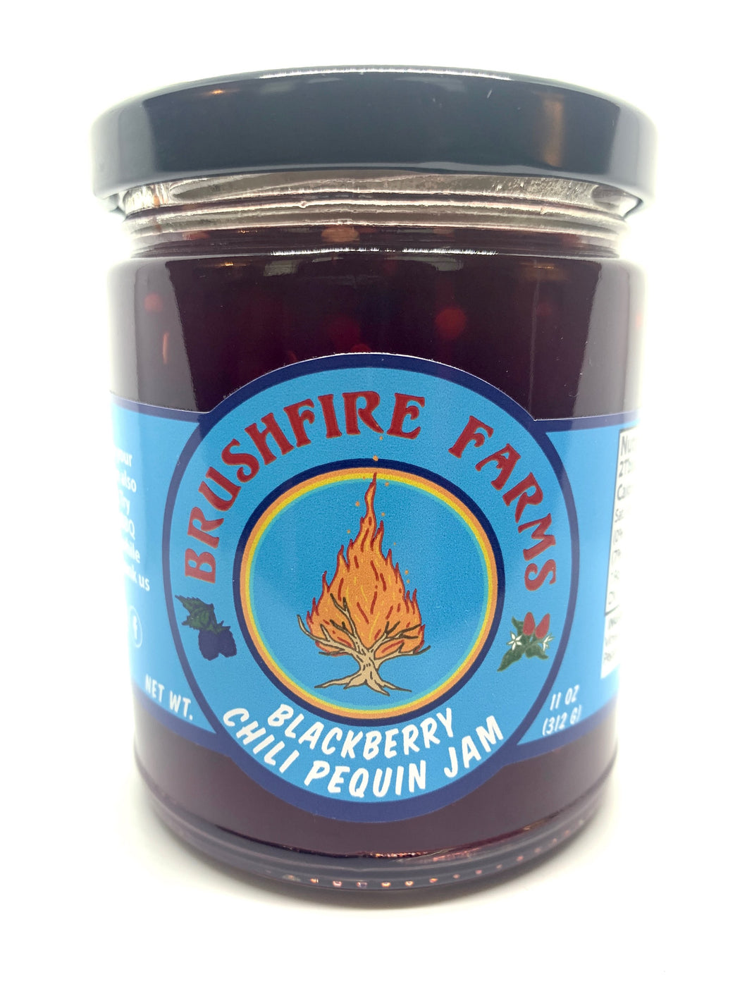 Blackberry Chili Pequin Jam