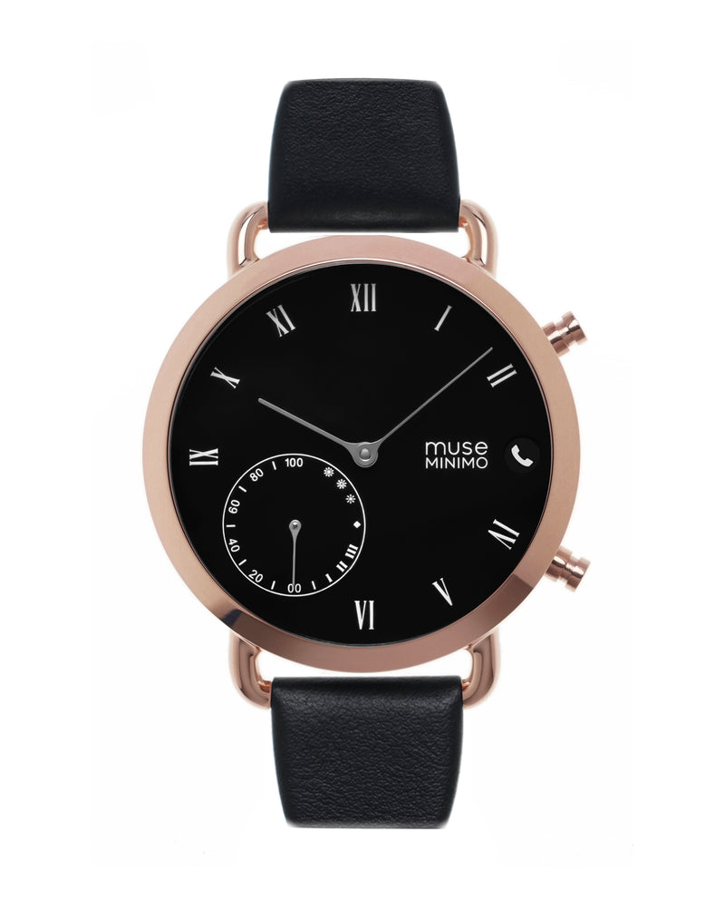 Muse Minimo Rosegold Black 18mm