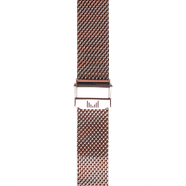 Milanese Rosegold Strap 18mm