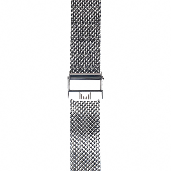 Milanese Silver Strap 18mm