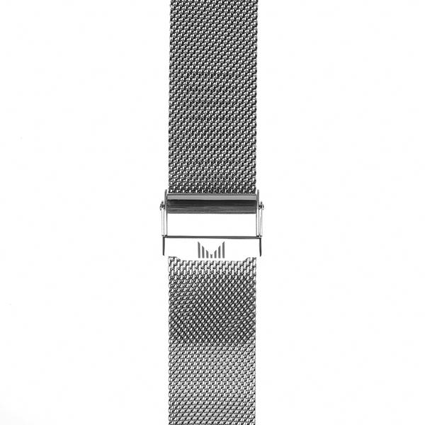 Milanese Silver Strap 22mm