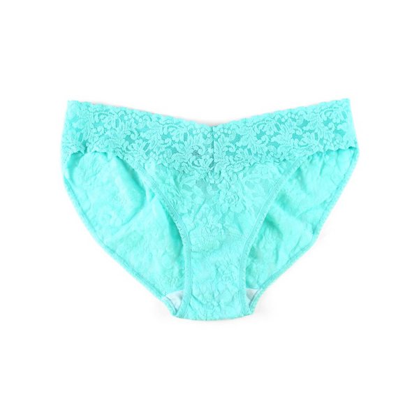 Solid Signature Lace V-Kini