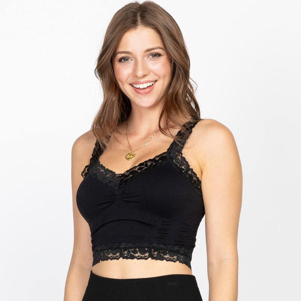 Seamless Lace Bralette